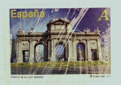 Sello Puerta de Alcalá España 2012