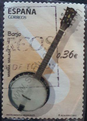 Sello España 2012 Banjo