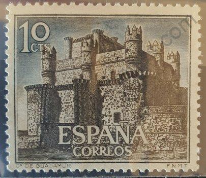 Sello Castillo de Guadamur - España 1966