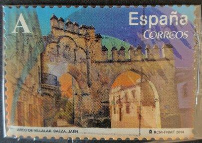 Sello Arco de Villalar - España 2014