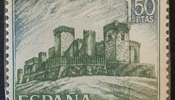 Sello Castillo de Almodóvar - España 1967