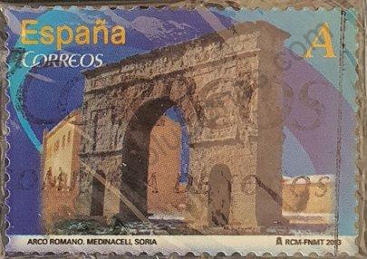 Arco romano de Medinaceli - Sello España 2013