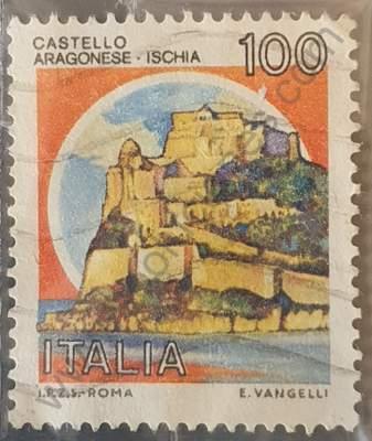 Castillo de Ischia - Sello Italia 1980