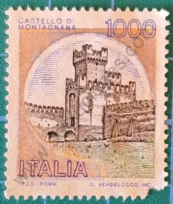 Castillo di Montagnana - Sello Italia 1980