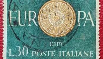Sello CEPT Italia 1960 L30