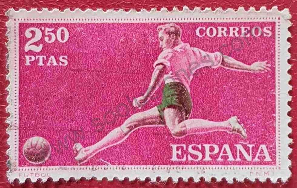 Sello Fútbol - España 1960