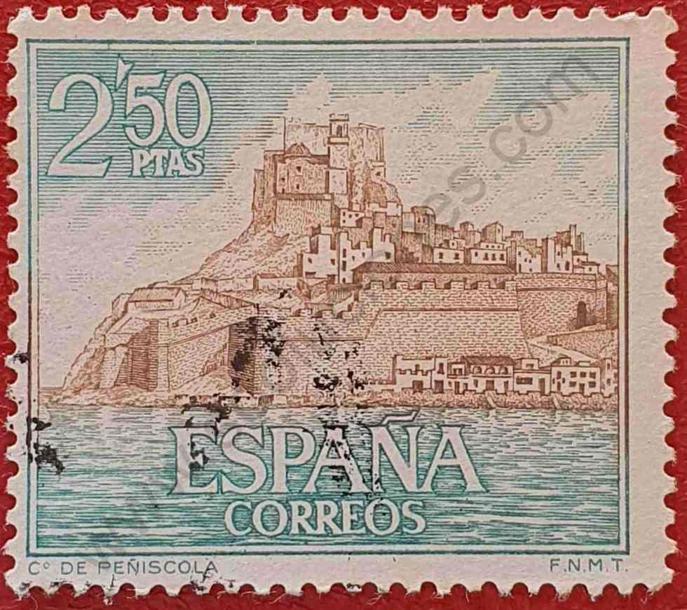 Castillo de Peñíscola - Sello España 1967