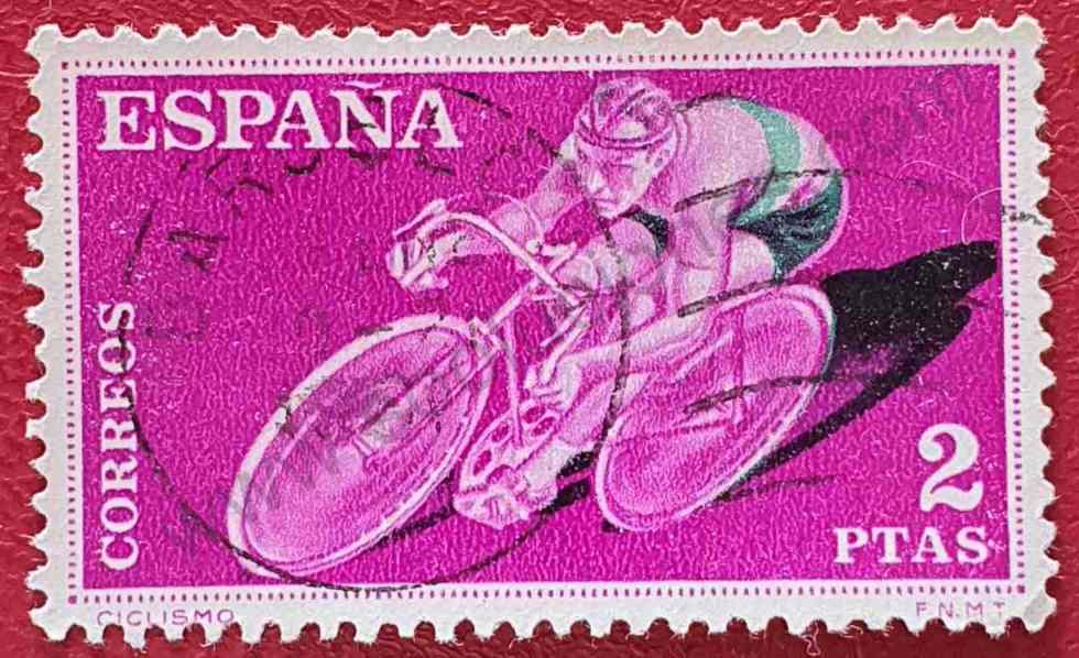 Ciclismo - Sello España 1960