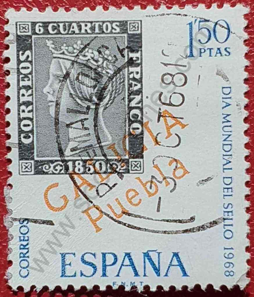 Día del sello 1968 - España 1'50 Ptas