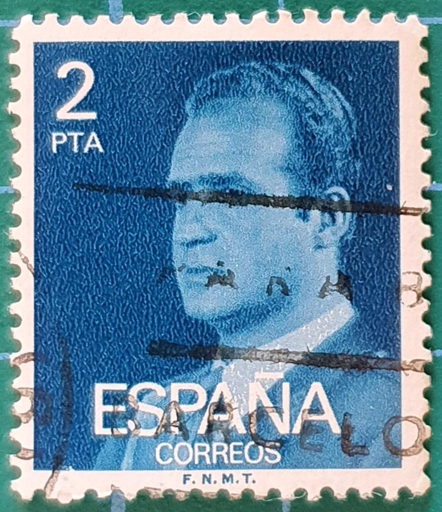 Sello Juan Carlos I 2Pta - España 1976