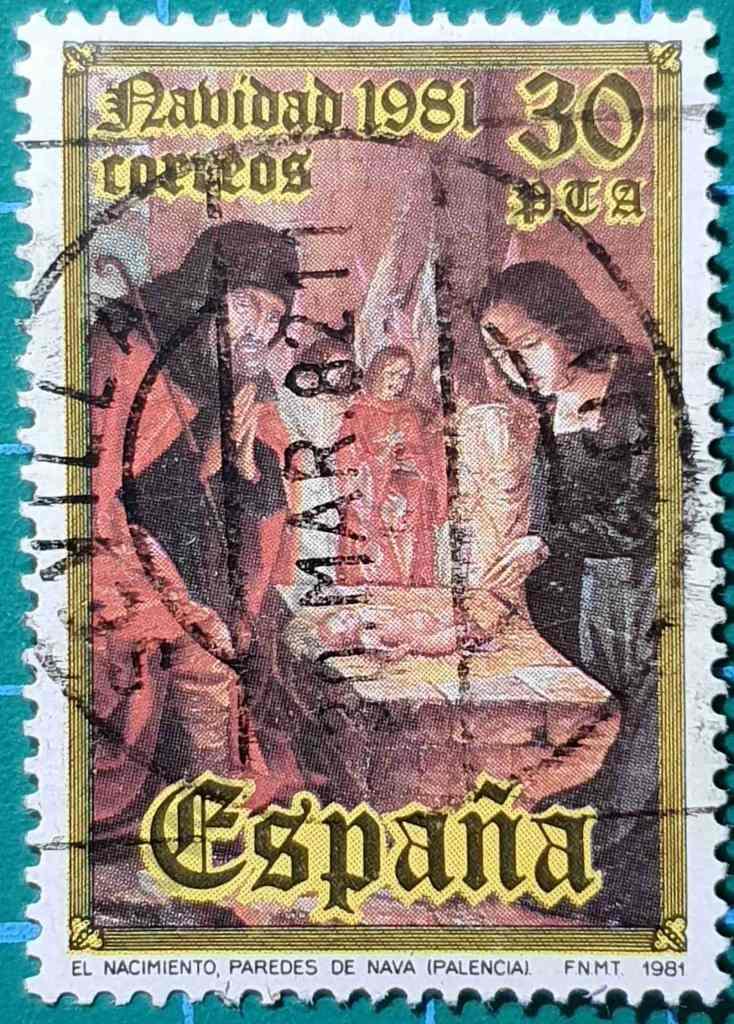 Nacimiento - Paredes de Nava - Sello España 1981