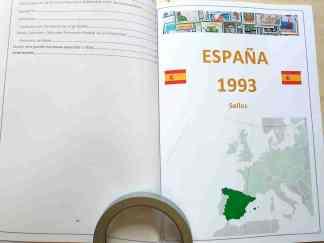 España 1993 completo montado en album catálogo