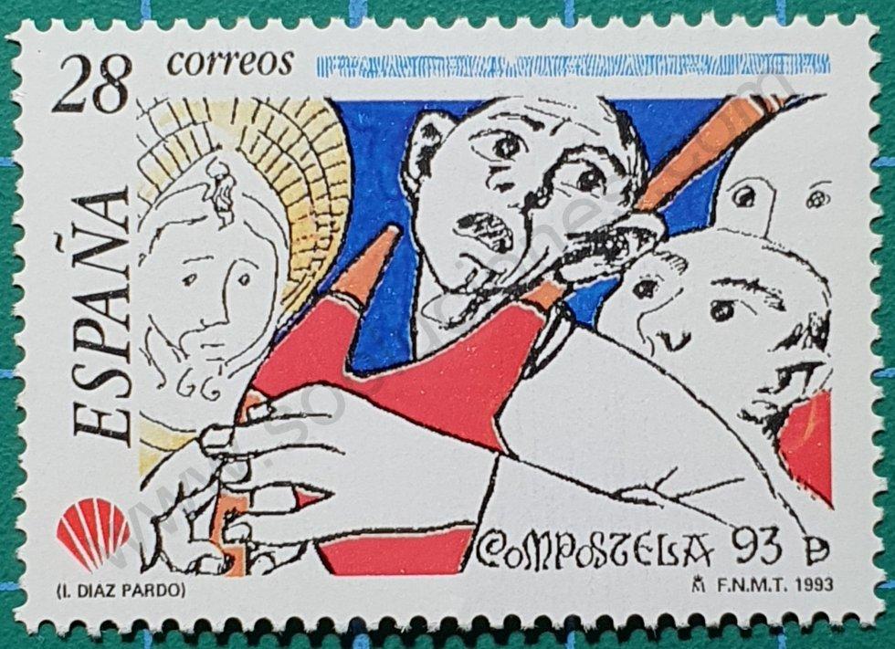 Gaitero - Sello España 1993