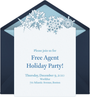 Free Agent Holiday Party at WorkBar