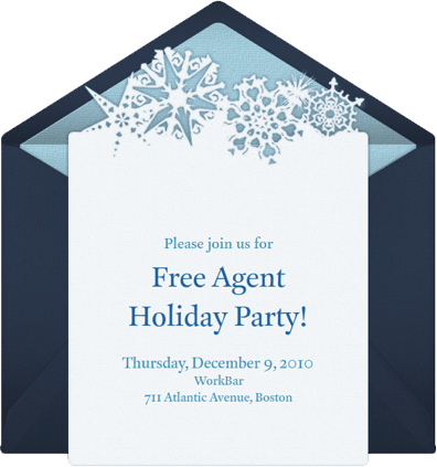 Free Agent Holiday Party