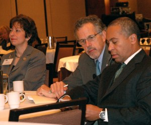Governor Deval Patrick at NAEP education symposium in Boston
