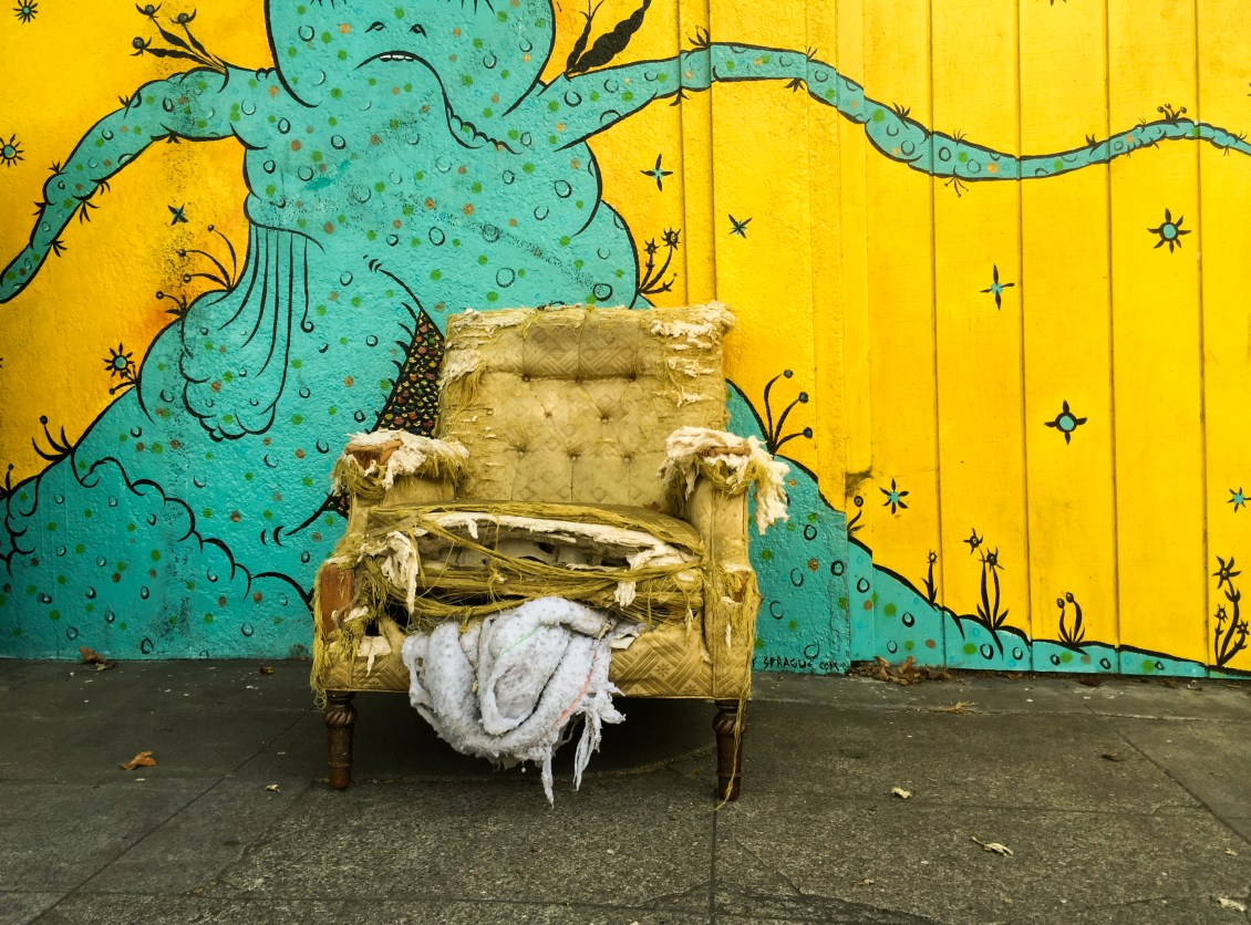 photos of roman chariot mural in temescal