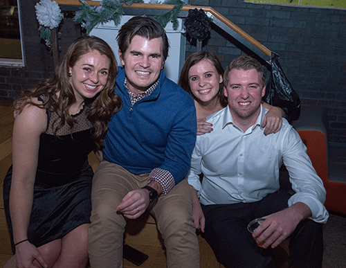 Boston Event Photography at Workbar Coworking Holiday Party