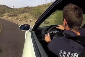 Este jovem vai mostrar-te como se destrói um BMW M3 em poucos segundos!
