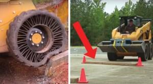 Os novos pneus Michelin são incríveis, NÃO TÊM AR!