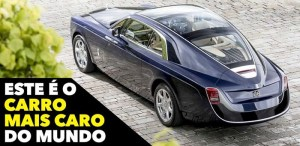 Conheces o carro mais caro do mundo? Foi feito ao gosto do seu dono!