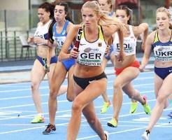 A alemã Alica Schmidt de 18 anos foi eleita atleta mais bonita do mundo