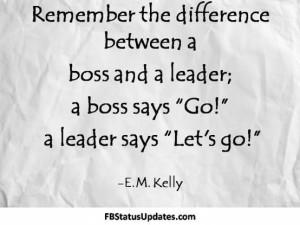 boss vs leader 10