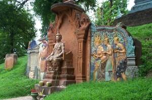 A modern Khmer art