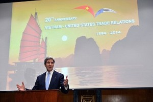 John Kerry Attends a Reception in Honor of the 20th Anniversary of U.S.–Vietnam Trade Relations Image Credit: Flickr/ U.S. Department of State