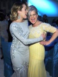 Kelly Osbourne + Miley Cyrus