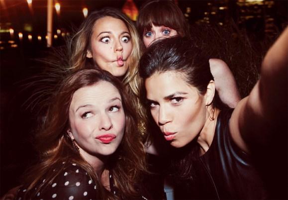 Blake Lively + America Ferrera + Alexis Bledel + Amber Tamblyn