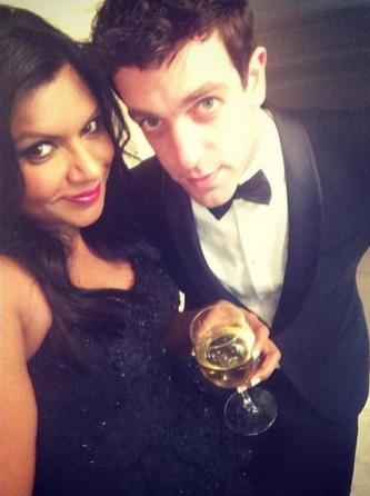 Mindy Kaling + BJ Novak