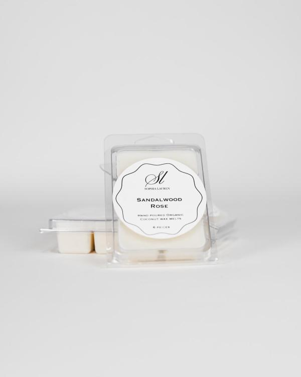 coconut wax melt, scented