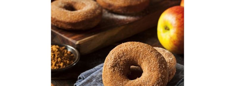 Apple cider donut scented candles and products