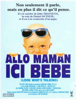 L'affiche du film Allo maman, ici bébé.