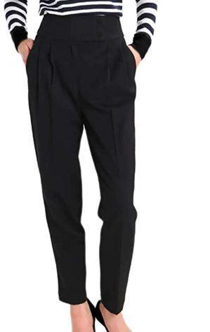 black capsule pants