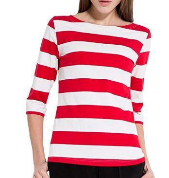 red and white strip