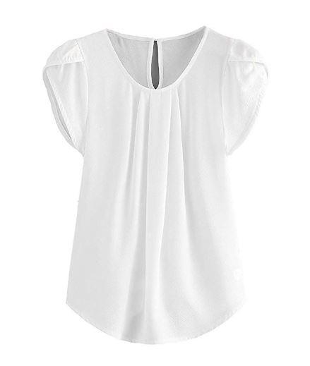 Work white shirt
