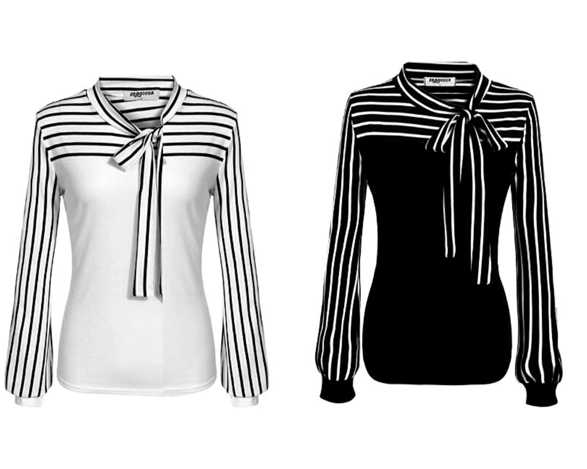 black white strip