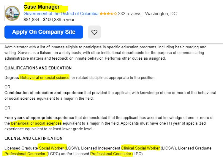 job scription