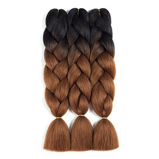 box braids rubber band method hair