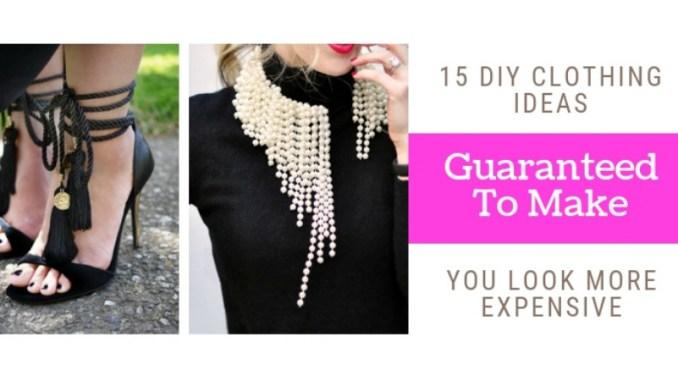 diy clothes life hacks 15 diy ideas