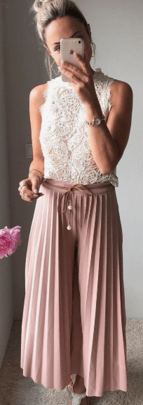 pleated pants lux