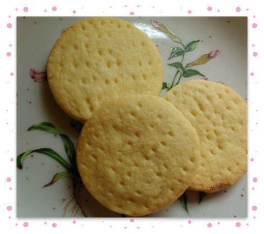 Shortbread close up