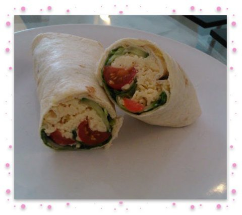 Cheese wrap finished