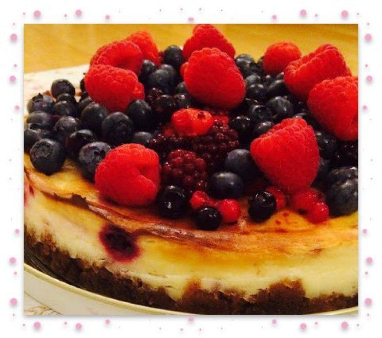 Cheesecake framed side