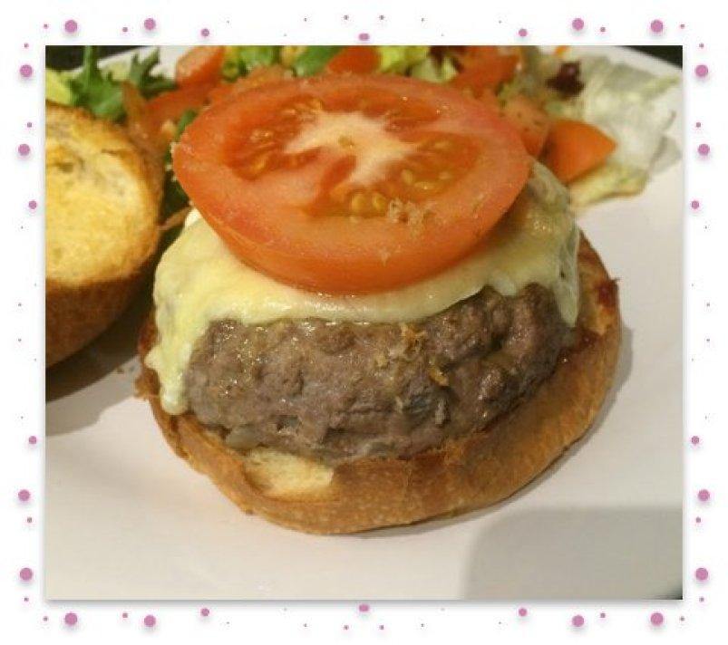 Burger 2 framed
