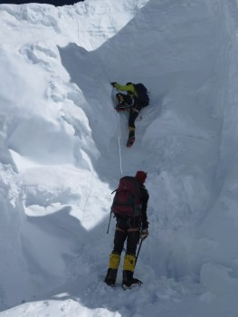 soso climbing way to C3