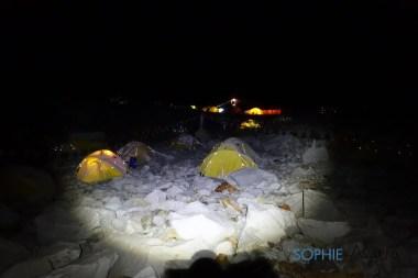 Base Camp by night