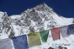 K2 au pied de la stupa du Camp de base